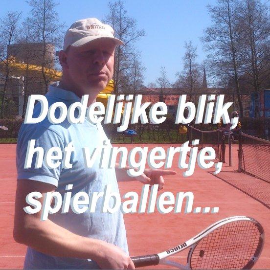 Eelko wint tennispartij