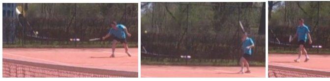 Foto serie Bart tennist