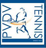 PVDV-Tennisvereniging Logo