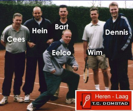 Tennisteam Herenlaag 2004