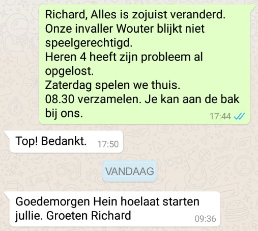 Richard-Whatsappjes