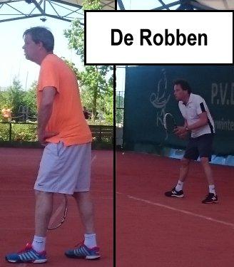 De Robben, invallers Rob 1 en Rob 2