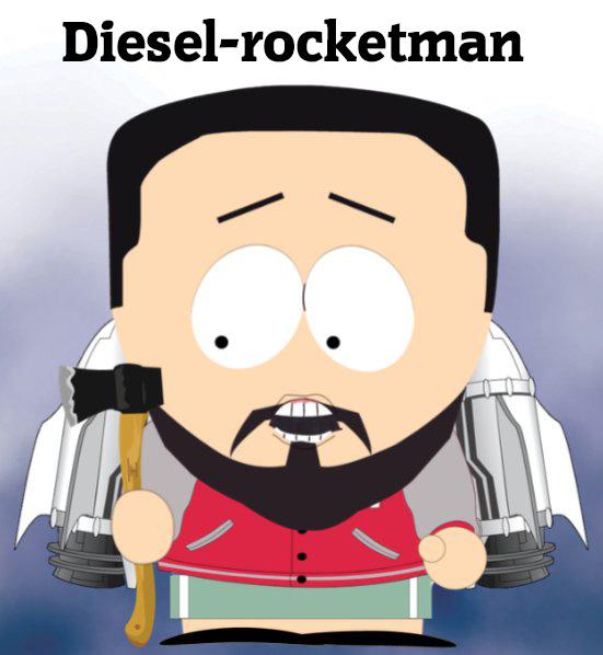 Dieselman Thijs de Rocketeer